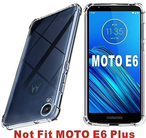 Amazon.com: Funda para Motorola Moto E6 HNHYGETE de TPU ...