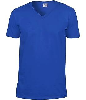 a1e15a209d614 Gildan - Camiseta de Manga Corta con Cuello V Modelo Premium algodón ...