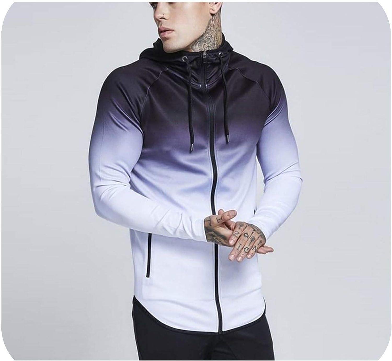 Big Hit Mens Hoodies Zipper Casual Pocket Hooded Sweatshirt