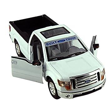 Car Toys 132 White Ford Truck F-150 Model Cars  sc 1 st  Amazon.com & Amazon.com: Car Toys 1:32 White Ford Truck F-150 Model Cars: Toys ... markmcfarlin.com