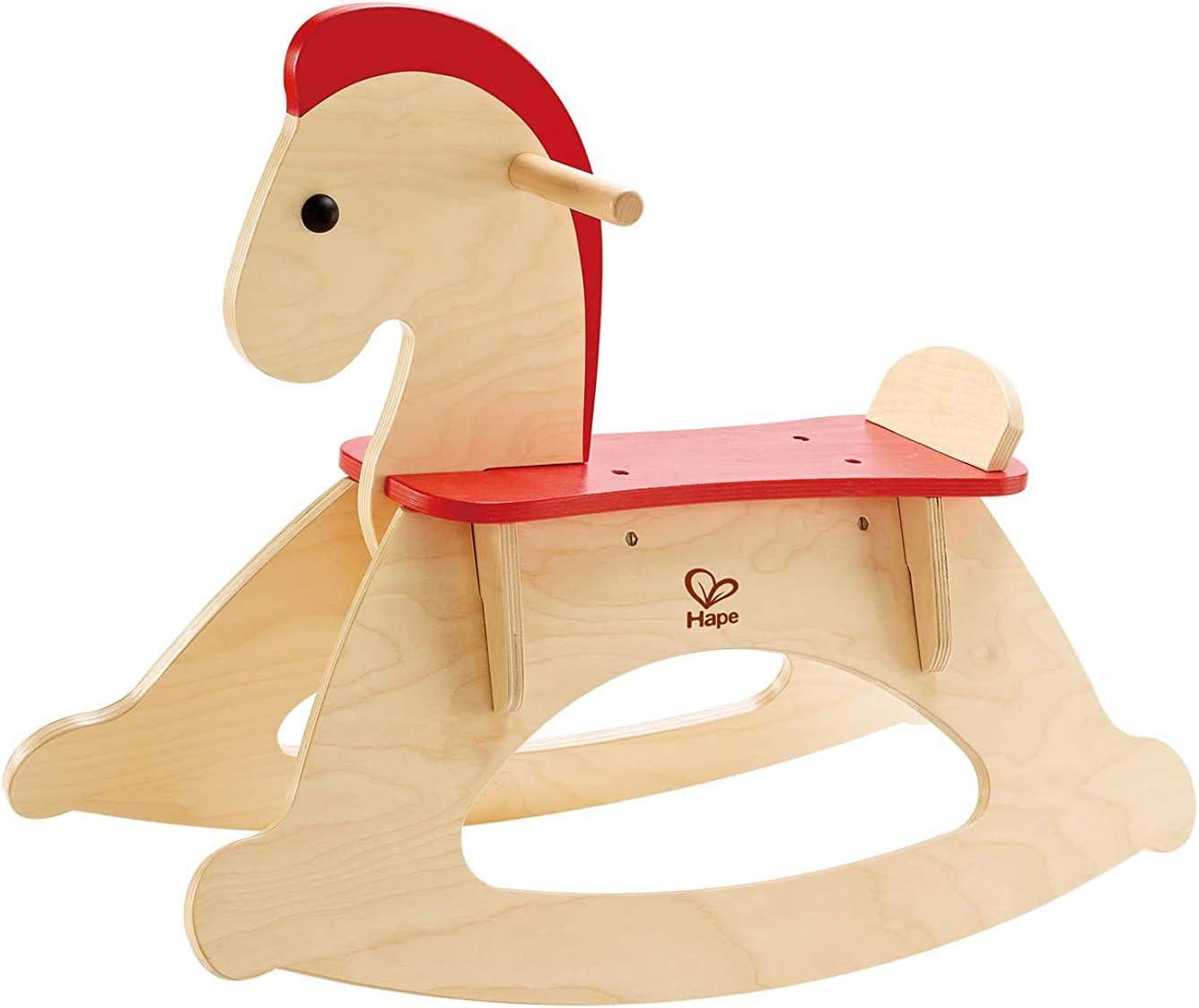 Hape Rock und Ride Kid'S Wooden Rocking Horse