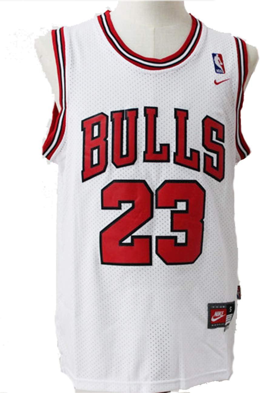 Chicago Bulls Mens NBA Michael Jordan #23 Chicago Bulls Basketball Jersey Retro Gym Vest  Sports Tops: Amazon.co.uk: Sports & Outdoors
