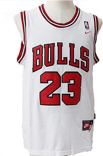 Camiseta de baloncesto para hombre NBA Michael Jordan #23 Chicago Bulls: Amazon.es: Ropa y accesorios