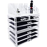 Ikee Design Jewelry & Cosmetic Storage Display Boxes 3 Pieces Set