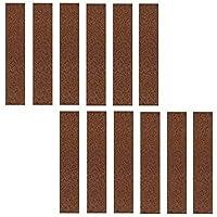 Okayji Non Slip Felt Pad Non Skid Floor Protector Furniture Pad Noise Insulation Pad Bumper, 12 Pieces