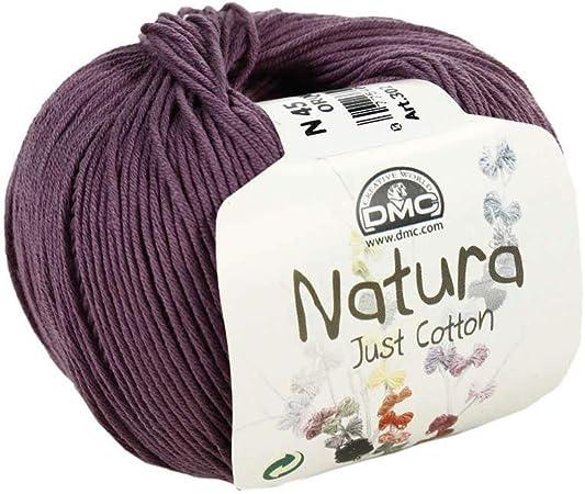 DMC: ovillo Natura: 100% algodón Orquidea 50 G: Amazon.es: Hogar