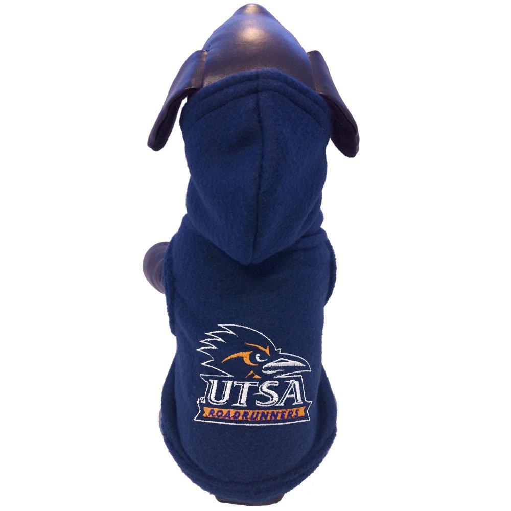 NCAA Texas San Antonio Roadrunners Polar Fleece Hooded Dog Jacket