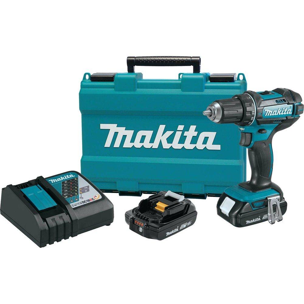 Makita XFD10R 18V Compact Lithium-Ion Cordless 1/2\