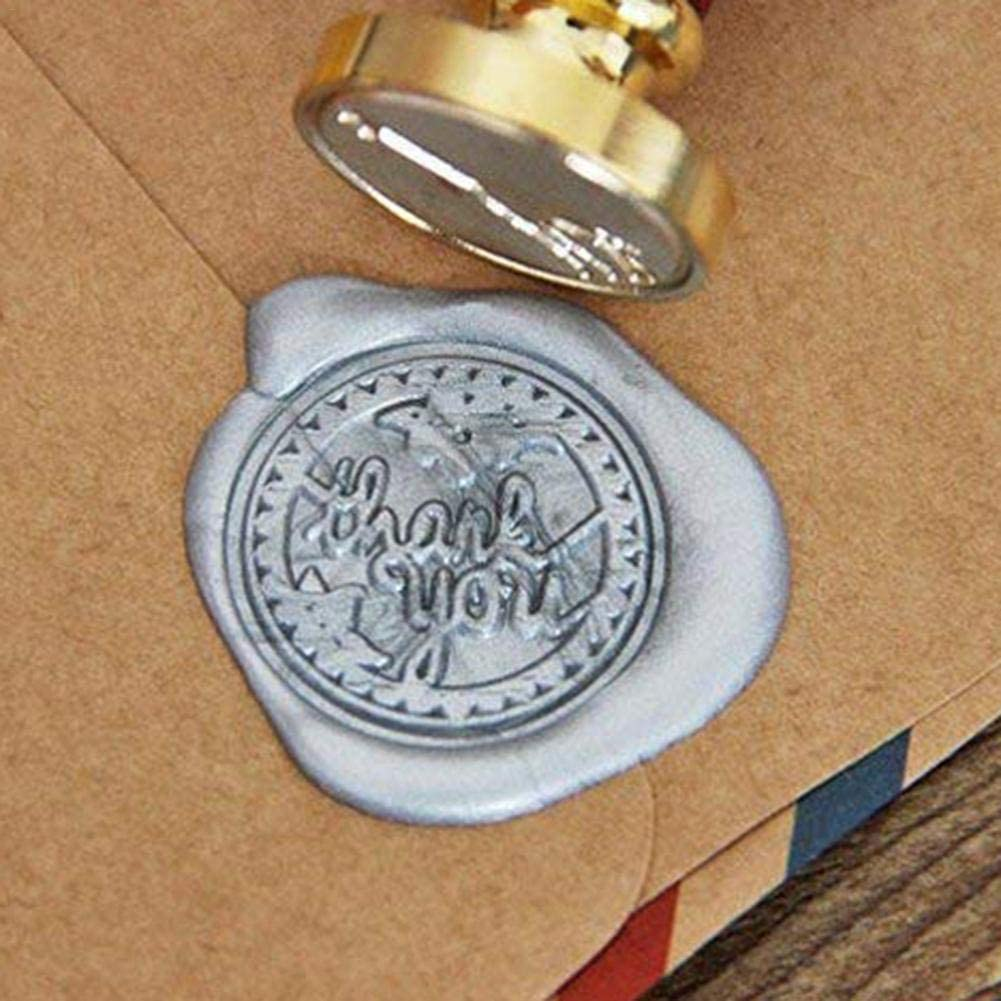 Packages Gift Wrapping Gadgets Durable Fine-Crafted Premium Sealing Wax Sticks Vintage Wax Seal Stamp Vogue Well-Crafted for Wedding Invitations Cards Well-Shaped