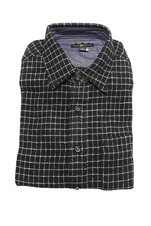 b27d0d50a4 Club Room Mens Window Pane Long Sleeves Button-Down Shirt at Amazon Men's  Clothing store: