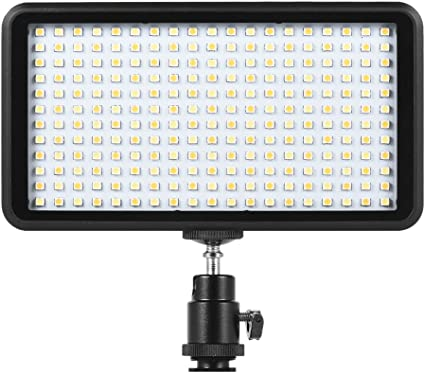 Paneld e Luz LED Andoer Antorcha Led Video 228pcs Ultra Fino 3200K ...