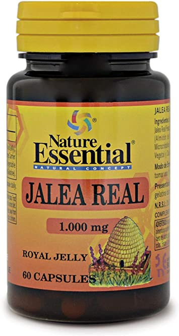 Oferta amazon: Jalea real 1000 mg. 60 cápsulas con levadura de cerveza
