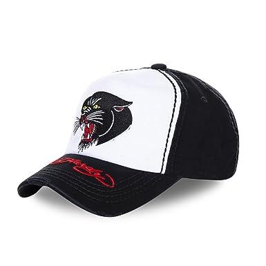ba6da1f7444c Ed Hardy Casquette Baseball Homme Panther Noir  Amazon.fr  Vêtements ...