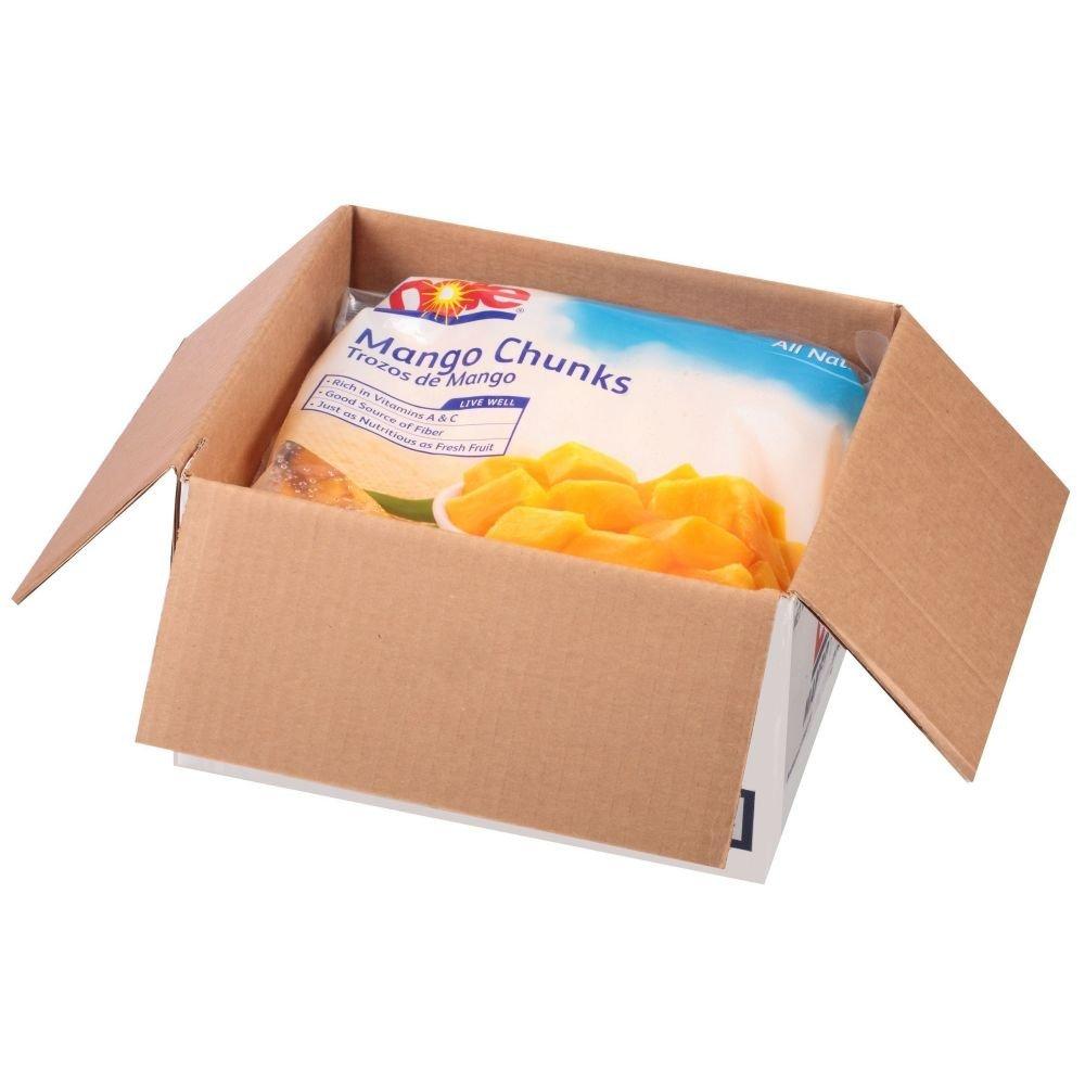 Dole Individual Quick Frozen Chunk Mango, 5 Pound - 2 per case. by Dole (Image #1)