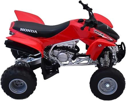 New Ray 57093 A Moto Quad Honda TRX 450 Modelo a escala 1/12 Rojo
