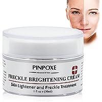 Whitening Cream, Anti blemish, Sommersprossen Creme, Flecken creme, Gesicht creme gegen Altersflecken/Dunkle Flecken, mit kojic Acid, Vitamin C, 30 ml