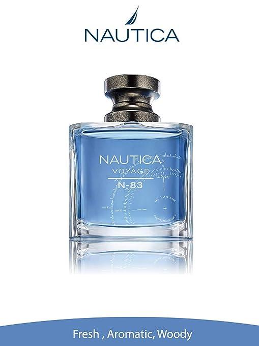 0d8a57dc Amazon.com : Nautica Voyage N-83 Eau de Toilette Spray, 3.4 Ounce :  Personal Fragrances : Beauty
