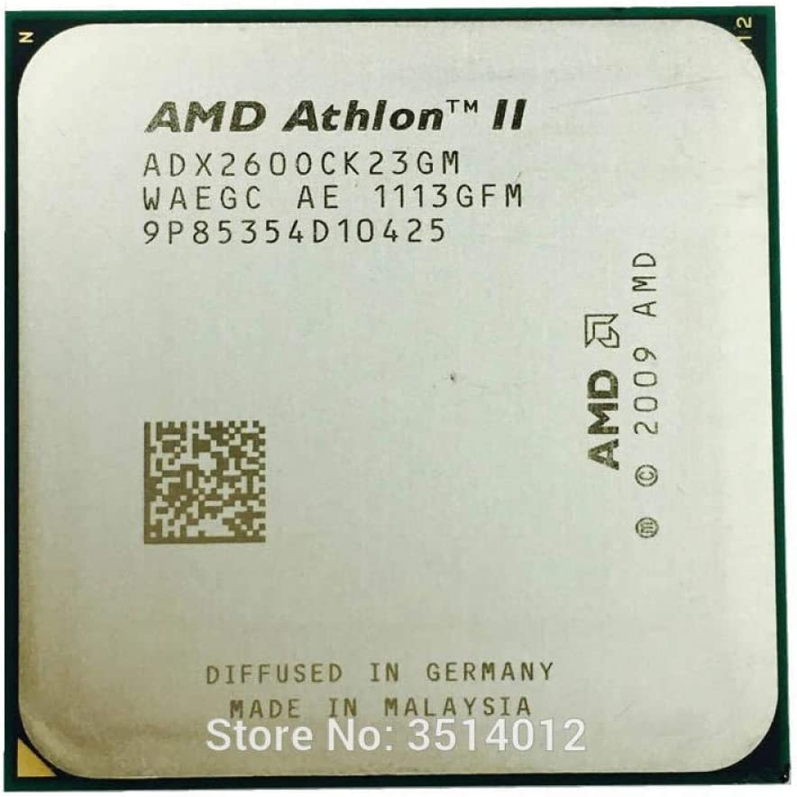 AMD Athlon II X2 260 3.2 GHz Dual-Core CPU Processor ADX260OCK23GM Socket AM3
