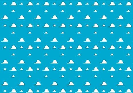 amazon com funnytree 7x5ft blue sky white clouds backdrop cartoon