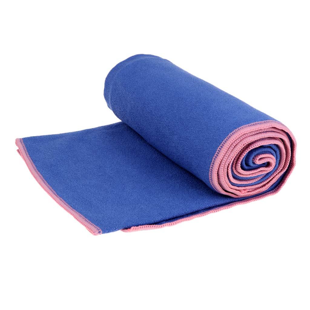 Amazon.com : Baosity Anti-Slip Yoga Mat Cover Towel Blanket ...
