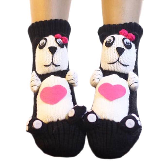 Un par de calcetines antideslizantes para dormir Slipper Socks Cute ...