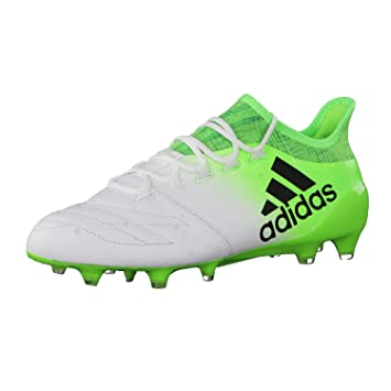 6fcaf5ce7 adidas X 16.1 Leather - Men's Football Boots, White, Men, X 16.1 LEATHER