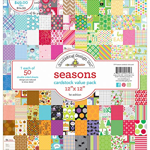 DOODLEBUG 5719 Value Kit Cardstock 12