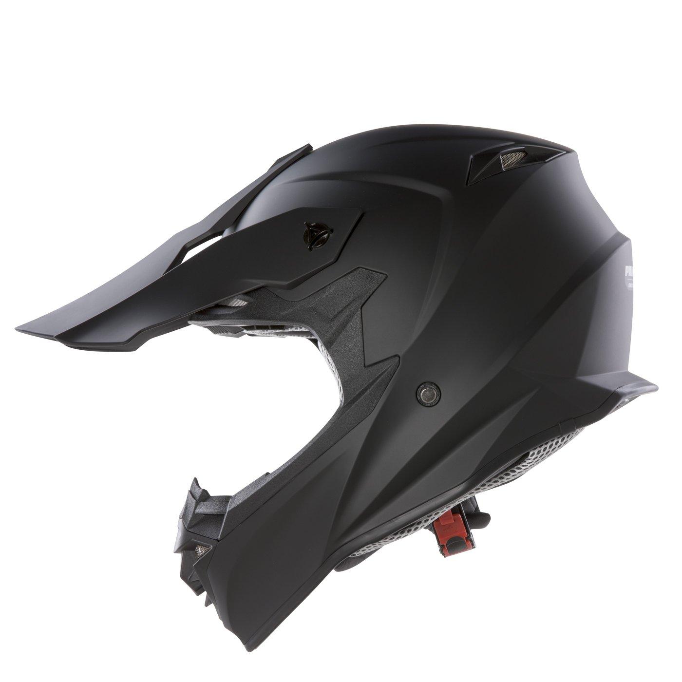 Panthera Moto Cross FS607 - Casco de moto, Negro Mate, M: Amazon.es: Coche y moto