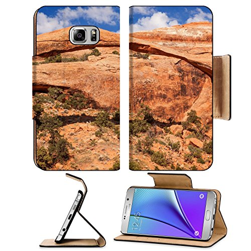 liili-premium-samsung-galaxy-note-5-flip-pu-leather-wallet-case-landscape-arch-rock-canyon-abstract-