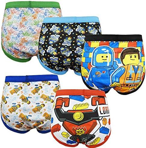 キッズ ブリーフ 男の子 子供パンツ パンツ THE LEGO MOVIE レゴ ムービー 5枚組 約105~115cm