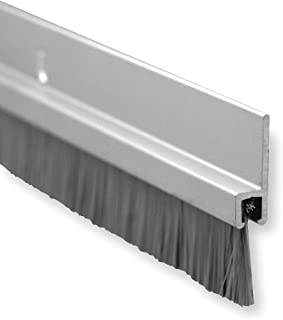 Pemko Brush Door Bottom Sweep Clear Anodized Aluminum with 0.625\  Gray Nylon Brush insert  sc 1 st  Amazon.com & Pemko Door Bottom Sweep Clear Anodized Aluminum with 1\