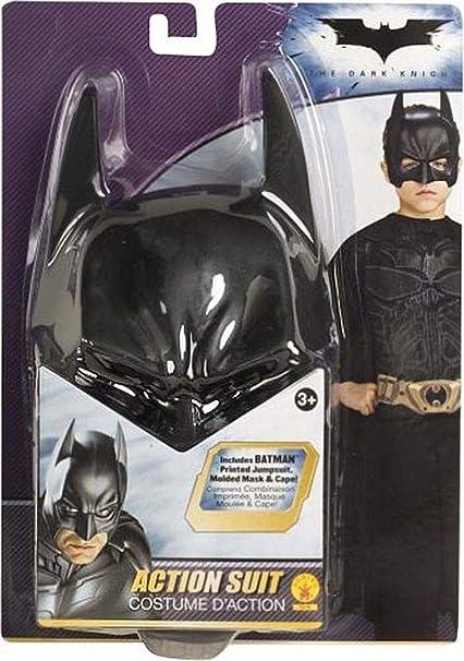 Amazon.com: Disfraz de Batman Acción traje niño, Negro: Toys ...