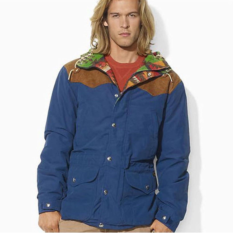 [ポロ ラルフローレン] POLO RALPH LAUREN 正規品 メンズ アウタージャケット Trek Jacket NAVY 並行輸入品 (コード:4041530506) B077W68D3F  L