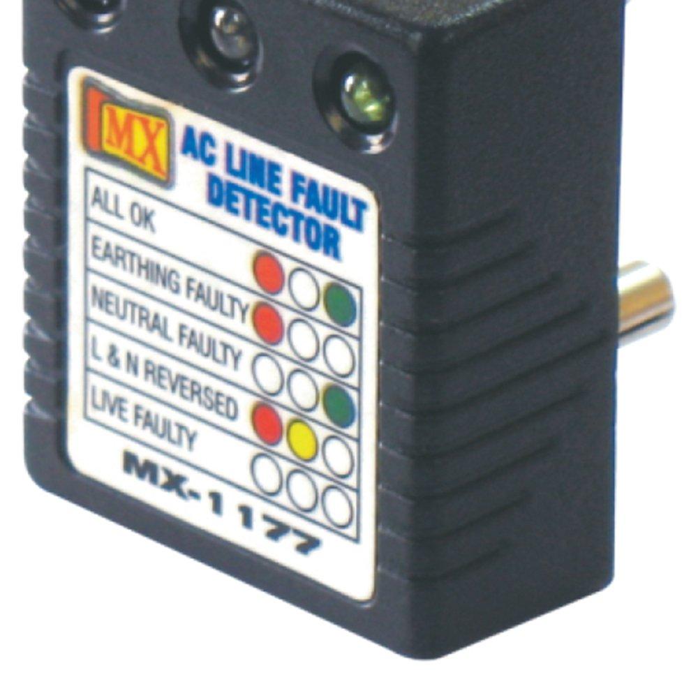 Mx Ac Line Fault Detector 1177 Industrial Scientific Live Circuit