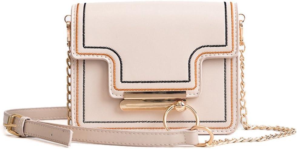 WUSHIYU Womens Messenger Bag Vintage Leather Handbags Shoulder Bag Messenger Bag Womens Shoulder Bag for Work//Travel//Shopping Color : Black