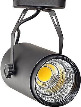 Uonlytech Foco LED para luz de Escenario Proyectores de Pista ...