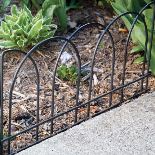 Panacea 89050 Arches Garden Edge Black Decorative