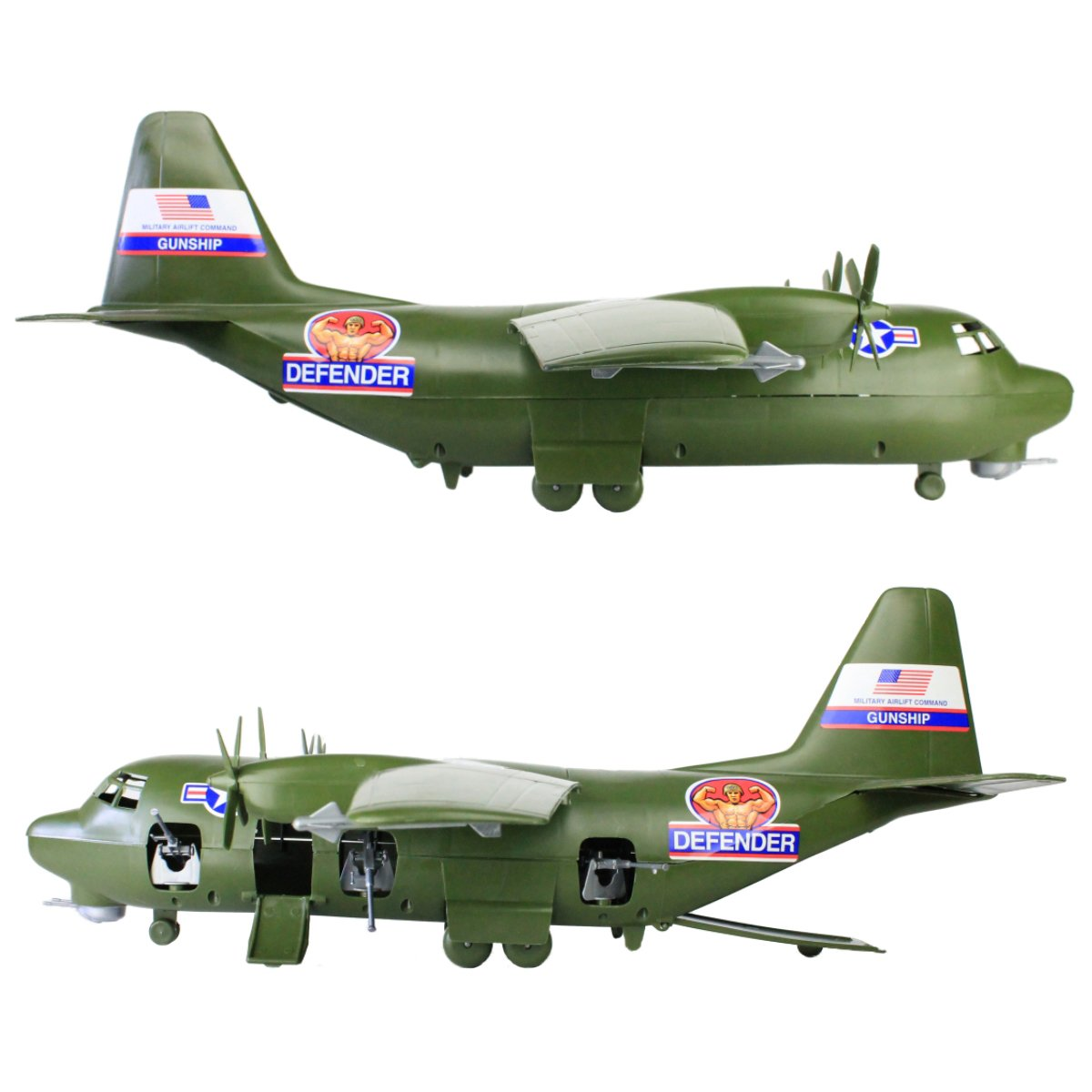 TimMee Plastic Army Men C130 Playset -27pc Giant Military Airplane Made in USA by Tim Mee Toy (Image #6)