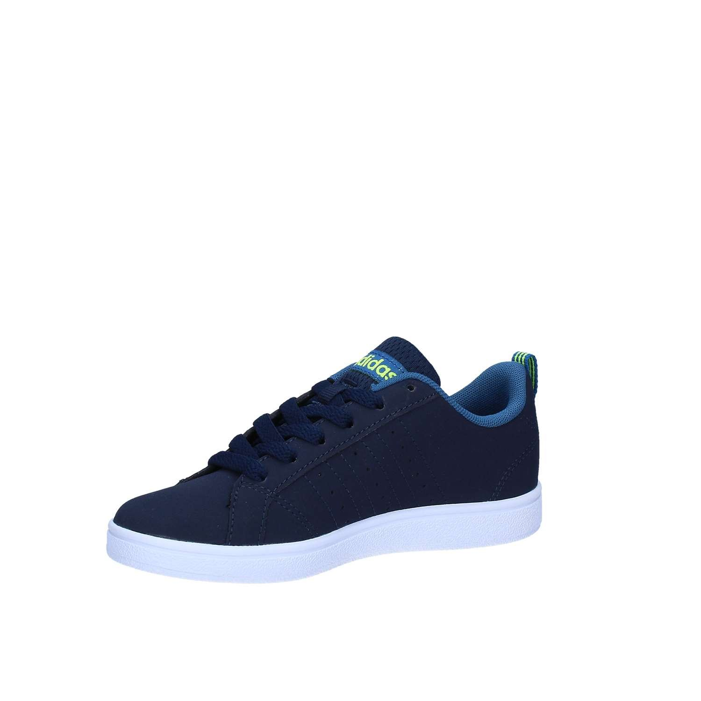 the latest 2474f d2817 adidas Unisex Kids Vs Advantage K Gymnastics Shoes, Blue, 13.5K UK Child  B74639