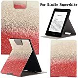 Newshine(TM) Case For Kindle Paperwhite,Ultra Slim PU Leather Smart Case Build in Magnetic with [Auto Sleep/Wake Function] for Amazon Kindle Paperwhite 2015 2013 2012 6'' E-reader (New Red Sand)
