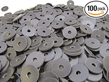 4 Pack Thick Neoprene Rubber Washers 3//4 OD X 3//8 ID X 1//4 Thickness 60 Duro Primal23 Industrial Neoprene Rubber Washers