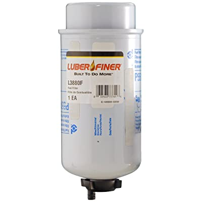 Luber-finer L3880F-6PK Heavy Duty Fuel Filter, 6 Pack: Automotive