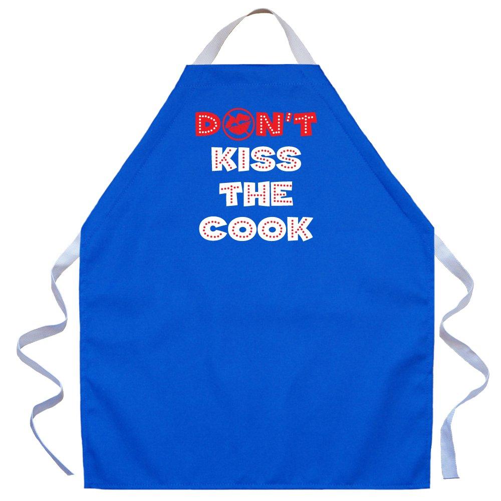 Attitude ApronsDont Kiss The Cook Adjustable Apron for Kids; Blue LA Imprints 2527