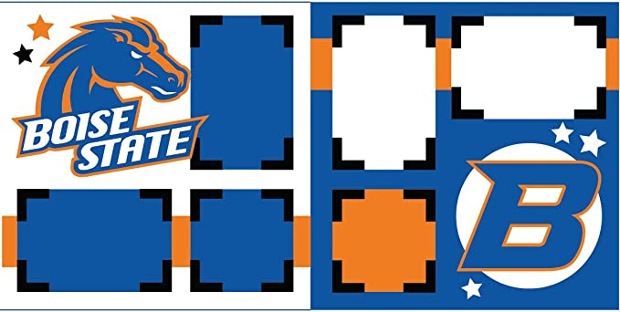 Sports Solution Boise State Broncos Scrapbook Page Kit