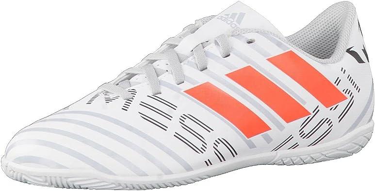 Ajustarse Pulido Pino  adidas Nemeziz Messi 17.4 In J, Zapatillas de fútbol Sala Unisex niños,  (Ftwbla/Narsol/Gritra), 33.5 EU: Amazon.es: Zapatos y complementos