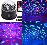 Bluetooth Speaker Lights DJ Party Light Disco Lights 9 Colours 9W Party Disco