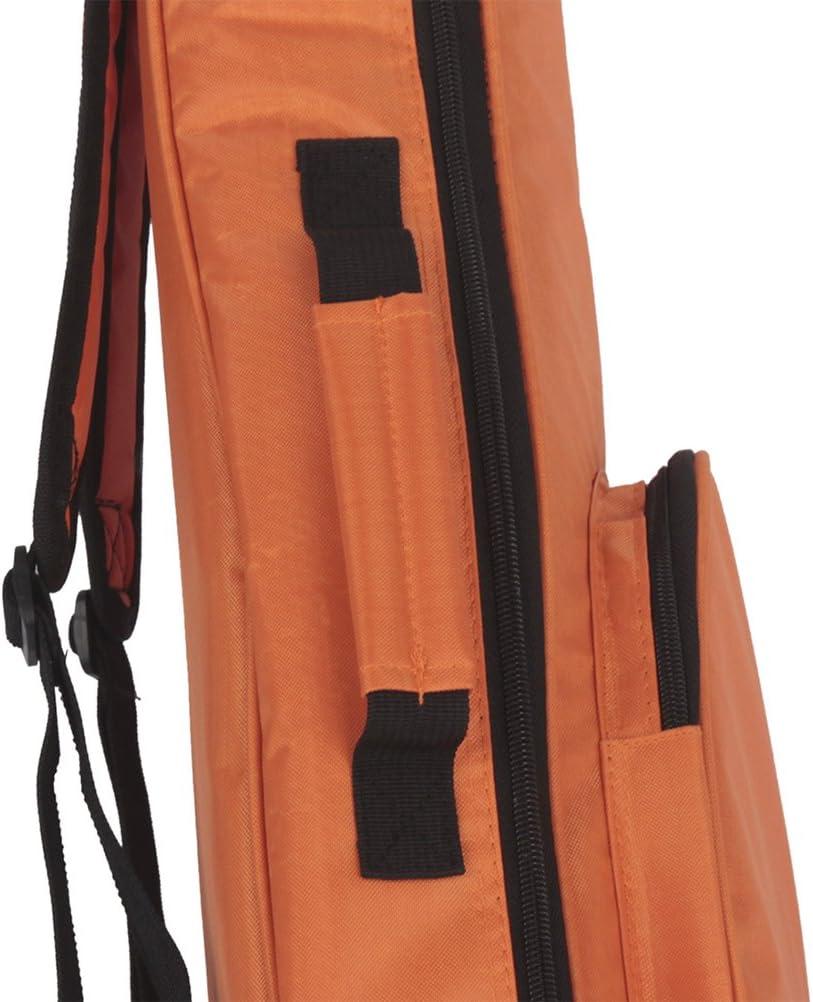 arancione Ultnice 66/cm ukulele imbottita borsa durevole custodia convenzionale Uke impermeabile con contenitore di grandi dimensioni