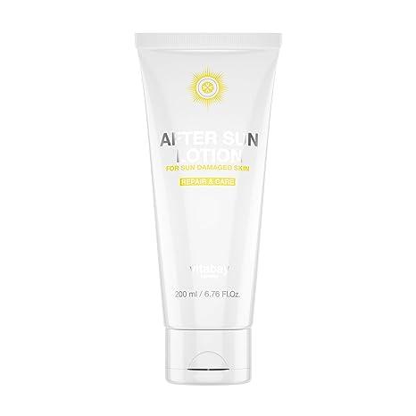After Sun Loción 200 ml – Cuidado Después del baño de sol con beruhigender Aloe Vera