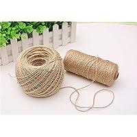 Hooggle Cuerda de Cuerda Decorativa de Cuerda Natural