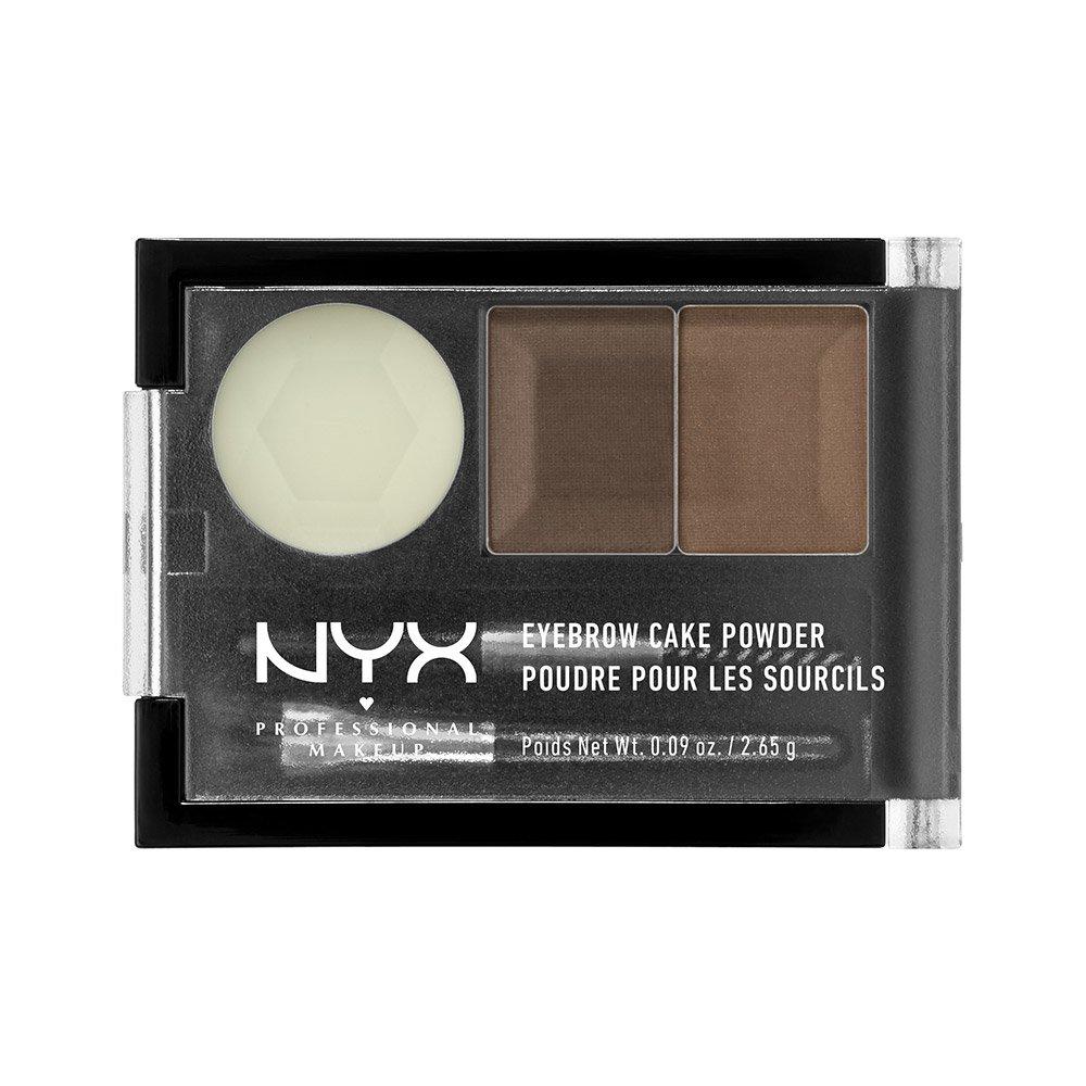 NYX Eyebrow Cake Powder, Dark Brown NYX Cosmetics USA Inc. NYX-ECP02